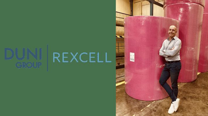 Marcus Martinsson, HR Manager bei Rexcell Tissue & Airlaid AB in Schweden