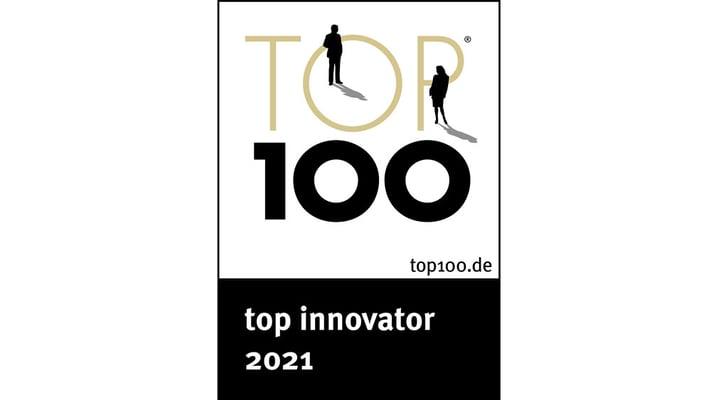 Mit dem TOP 100-Siegel werden jedes Jahr die 100 innovativsten Firmen in Deutschland von einer unabhängigen Jury ausgezeichnet.
